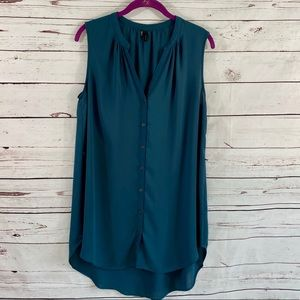 Maurices sleeveless tunic blouse